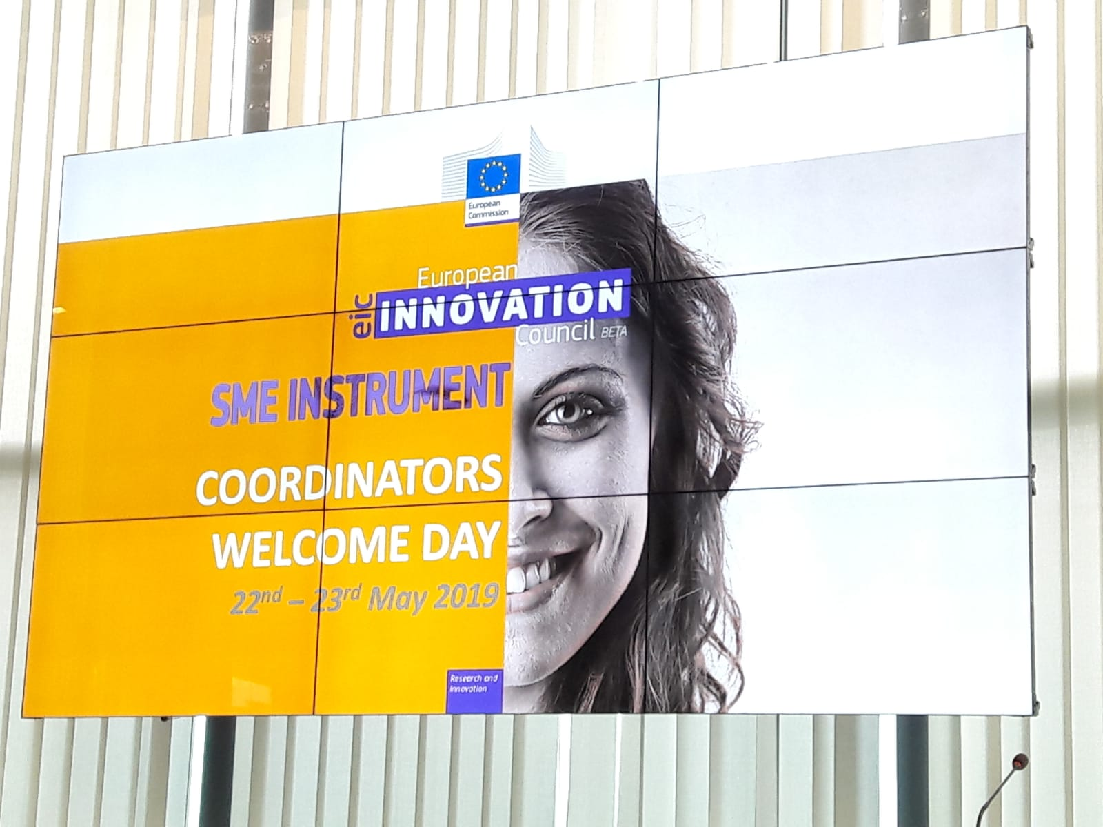 AROMICS' CEO will be present at the SME instrument Wellcome Day